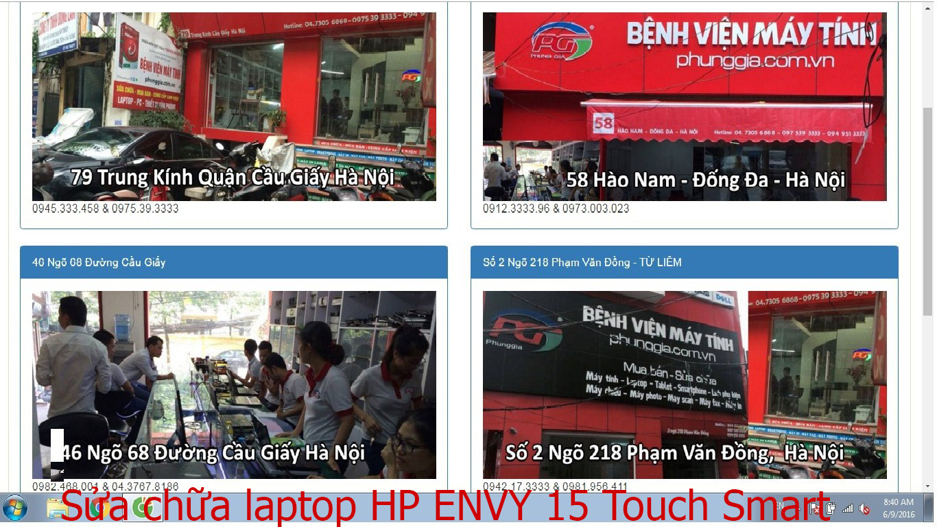 sửa chữa laptop HP ENVY 15 Touch Smart, 15 3040NR, 15-1066nr
