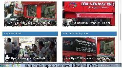 Trung tâm sửa chữa laptop Lenovo IdeaPad Y550 lỗi nhòe hình