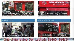 Chuyên sửa chữa laptop Dell Latitude E6400, E6410, E6420, E6430 lỗi có mùi khét