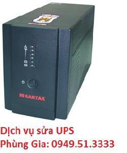 Cửa hàng nhận sửa bộ lưu điện ups Line Interactive Santak Blazer 1000E